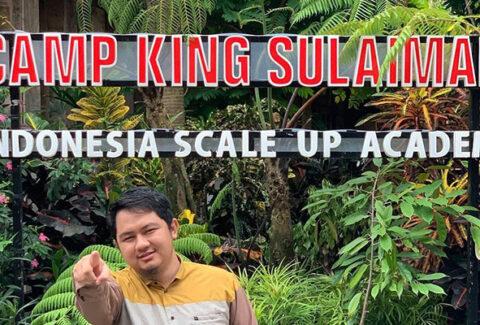 Camp King Sulaiman, Mentasbihkan Dirinya Sebagai Indonesia Scale Up Academy