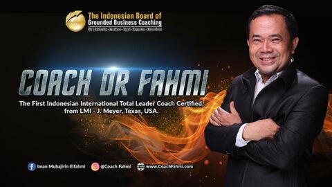Biodata Coach Dr Fahmi - Profil Coach Dr Fahmi
