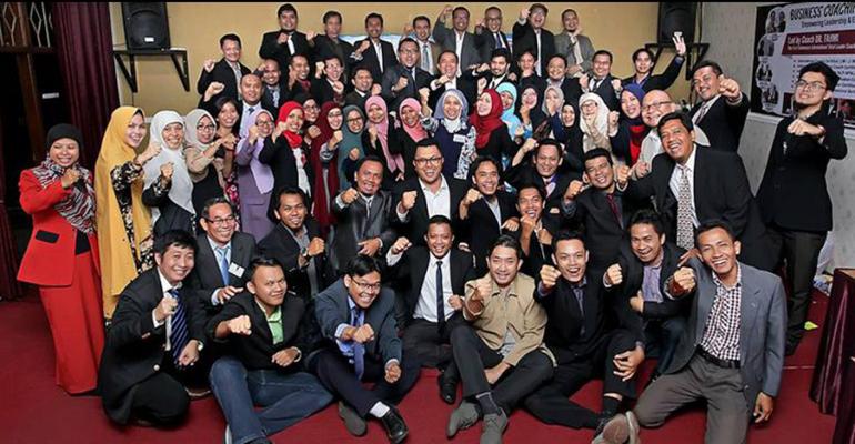 Grounded Business Coaching menjadi rujukan 2.142 Business Owner Indonesia, Malaysia - Qatar